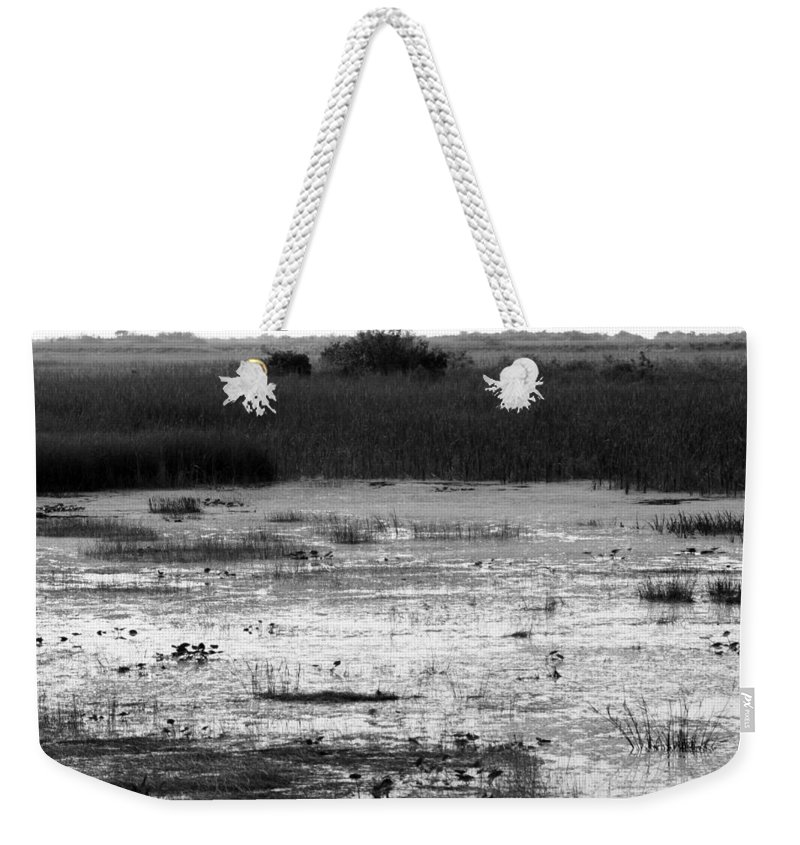 Wet Weekender Tote Bag featuring the photograph Wet Landscape by Chuck Hicks