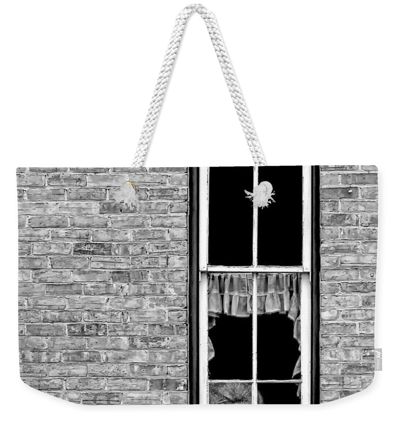 Gorilla Weekender Tote Bag featuring the photograph What 800 Lbs Gorilla Bw by Steve Harrington