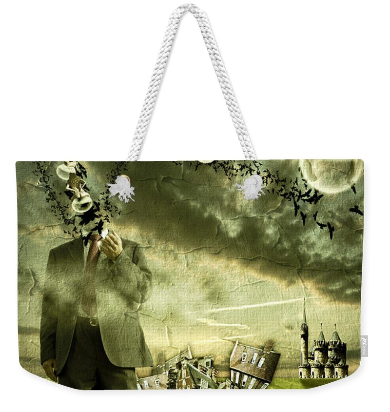 Art Weekender Tote Bag featuring the photograph What Are You Thinking by Nathan Wright