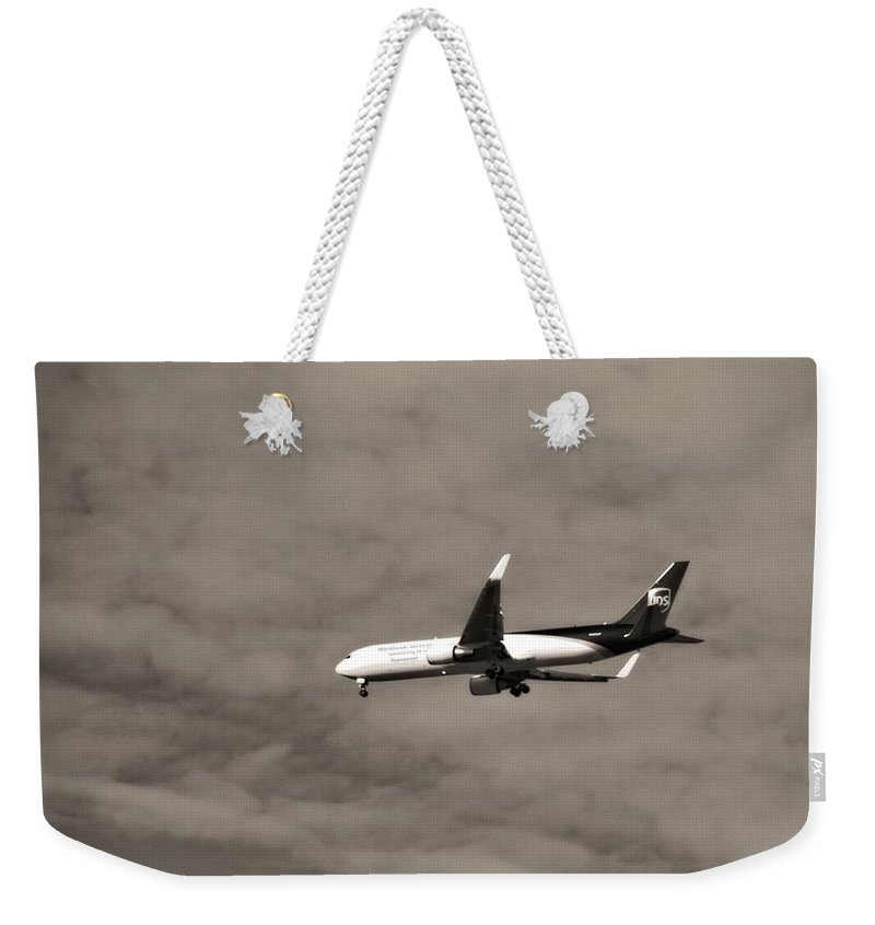 What Can Brown Do For You Weekender Tote Bag featuring the photograph What Can Brown Do For You by Dan Sproul
