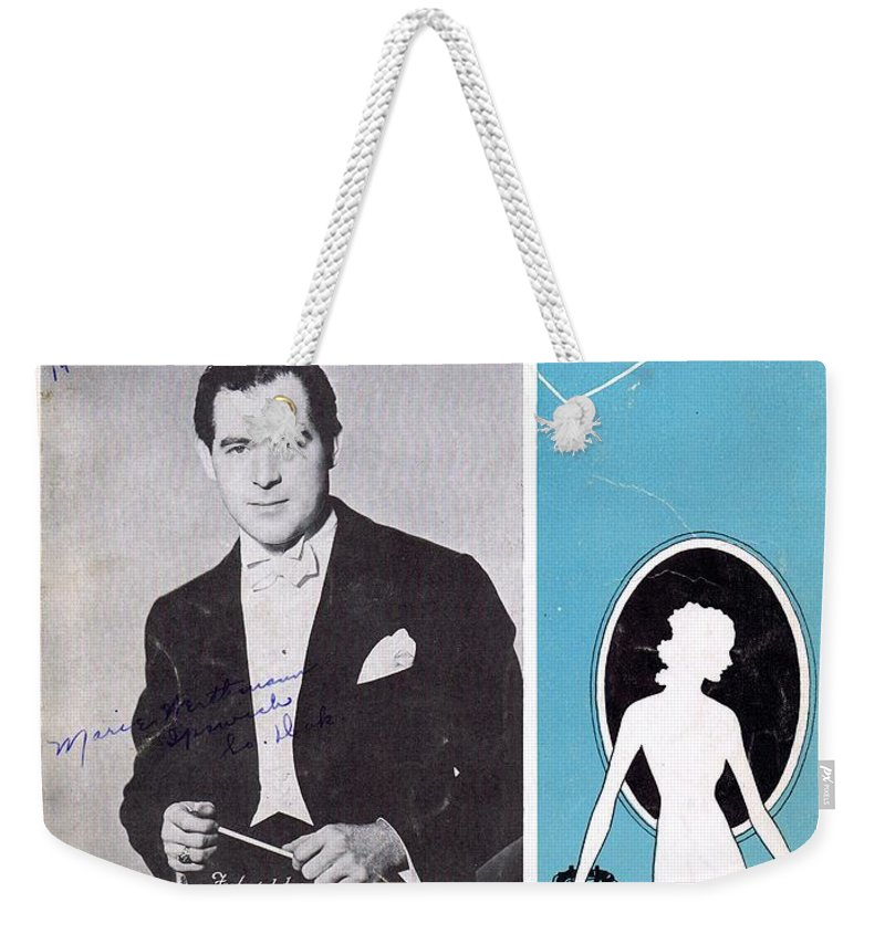 Nostalgia Weekender Tote Bag featuring the photograph What Will I Tell My Heart by Mel Thompson