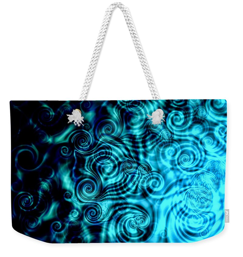Artmatic Weekender Tote Bag featuring the digital art When It Rains by Hakon Soreide
