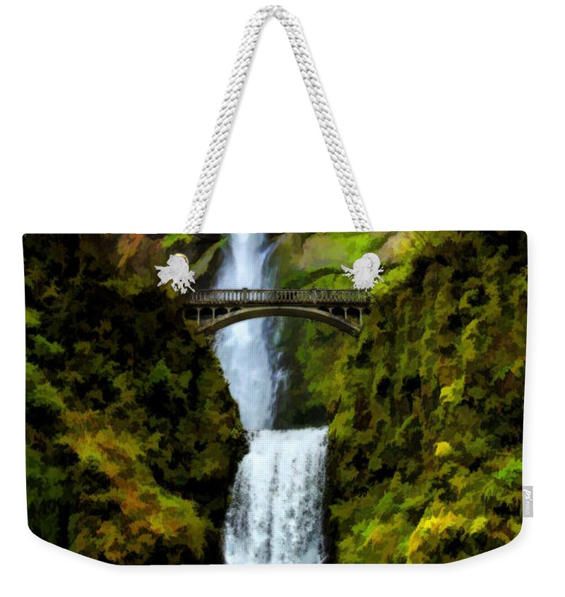 Oregon Weekender Tote Bag featuring the photograph Where Gnomes And Trolls Play by Jon Burch Photography