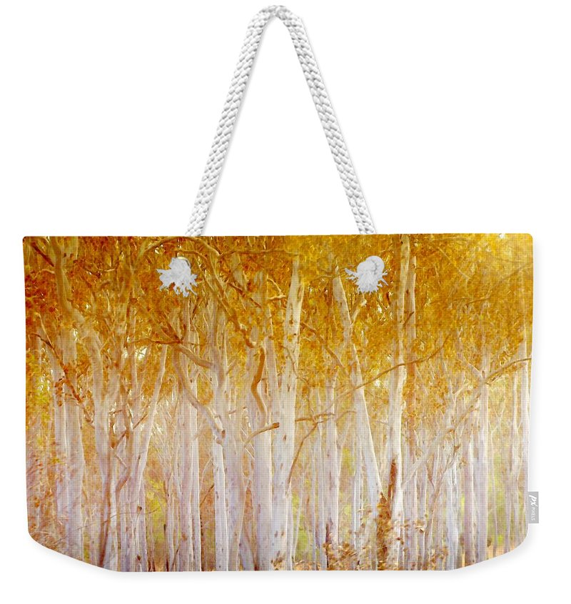 Landscapes Weekender Tote Bag featuring the photograph Where The Sun Shines by Holly Kempe