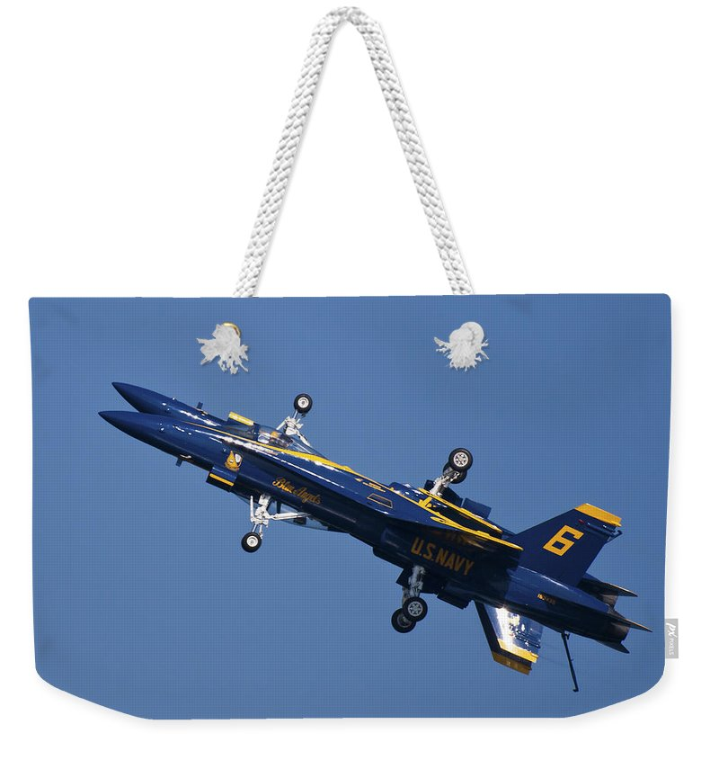 3scape Photos Weekender Tote Bag featuring the photograph Which Way Is Up by Adam Romanowicz