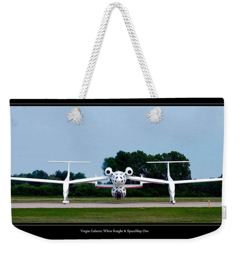 3scape Weekender Tote Bag featuring the photograph White Knight by Adam Romanowicz