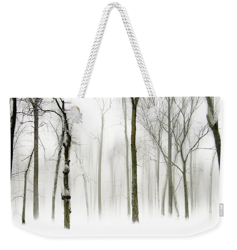 Winter Weekender Tote Bag featuring the photograph Whiter Shade Of Pale by Jessica Jenney