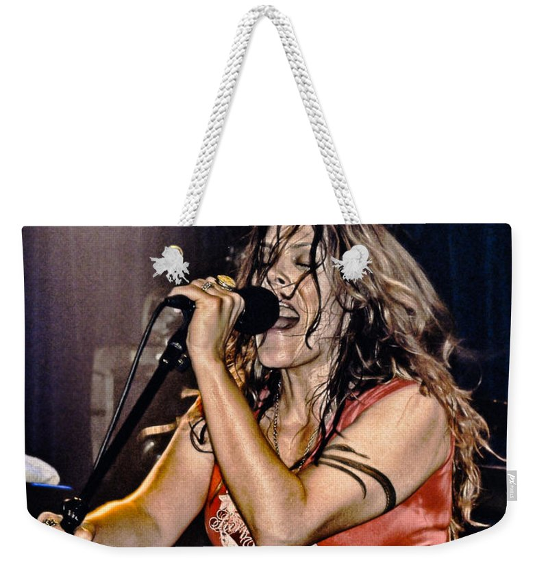 Beth Hart Weekender Tote Bag featuring the photograph Whole Lotta Power by Joachim G Pinkawa