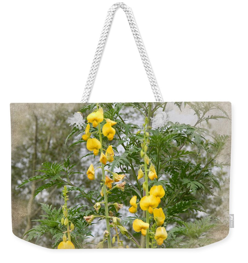 Summer Weekender Tote Bag featuring the photograph Wildflowers by George Pedro