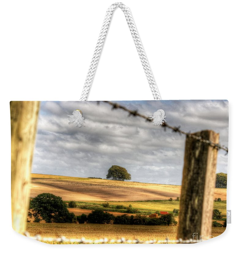 Wiltshire Weekender Tote Bag featuring the photograph Wiltshire by Traci Law
