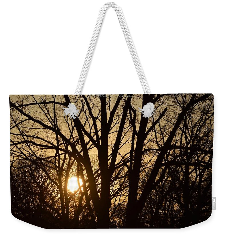 Relaxing Moment Weekender Tote Bag featuring the photograph Winding Down The Evening by Sonali Gangane
