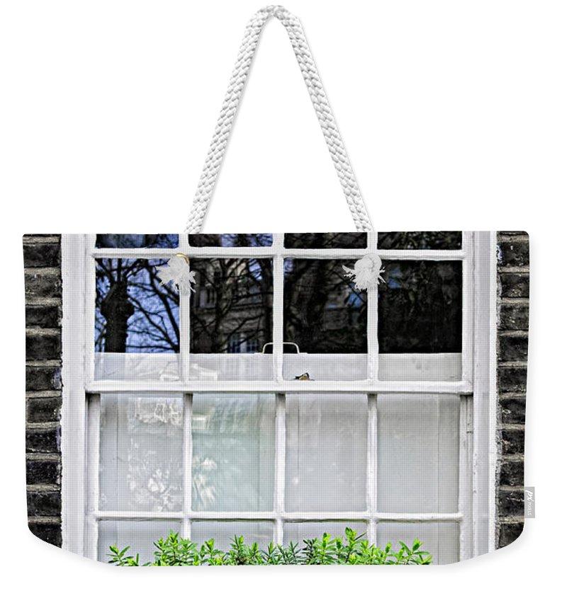 Window Pane Weekender Tote Bags