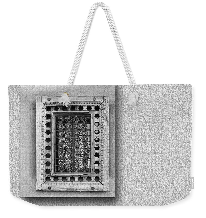 Window Weekender Tote Bag featuring the photograph Window Of Little Light by Nikolyn McDonald