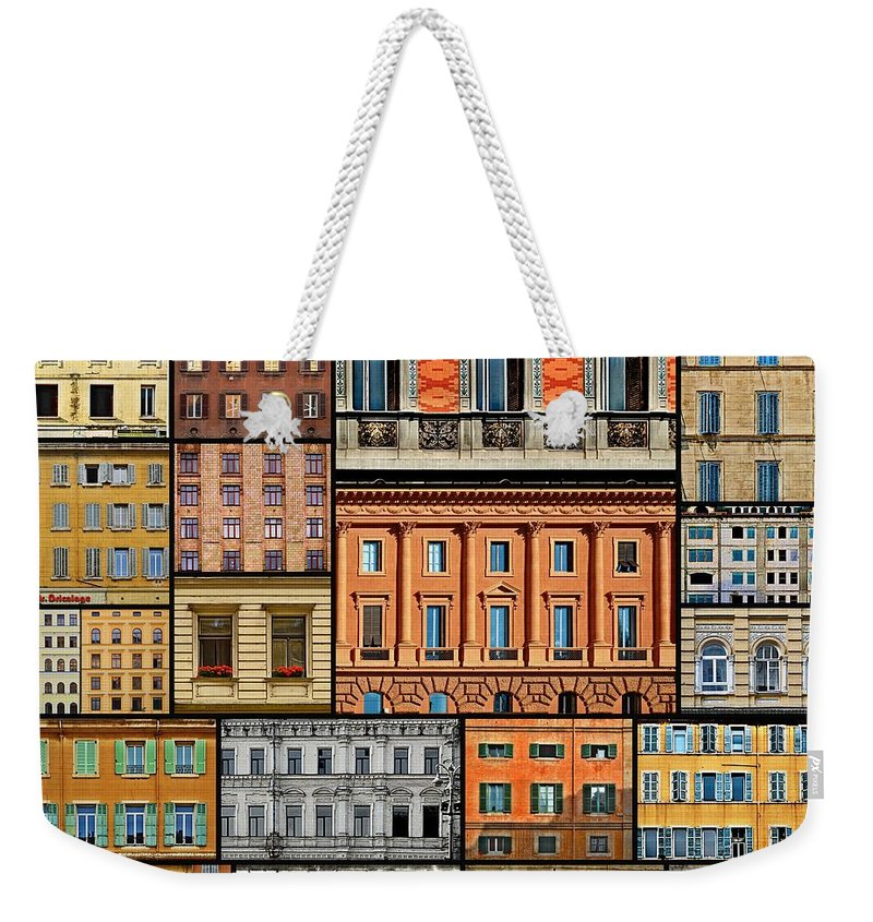 Windows Weekender Tote Bag featuring the photograph Windows by Steven Liveoak