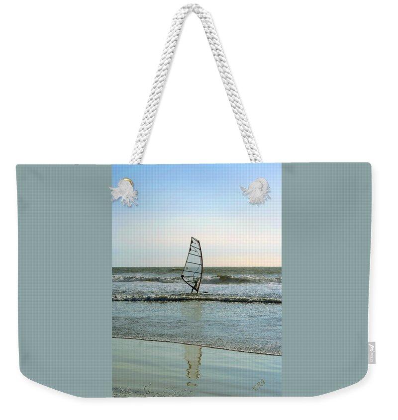 Windsurfer Weekender Tote Bag featuring the photograph Windsurfing by Ben and Raisa Gertsberg