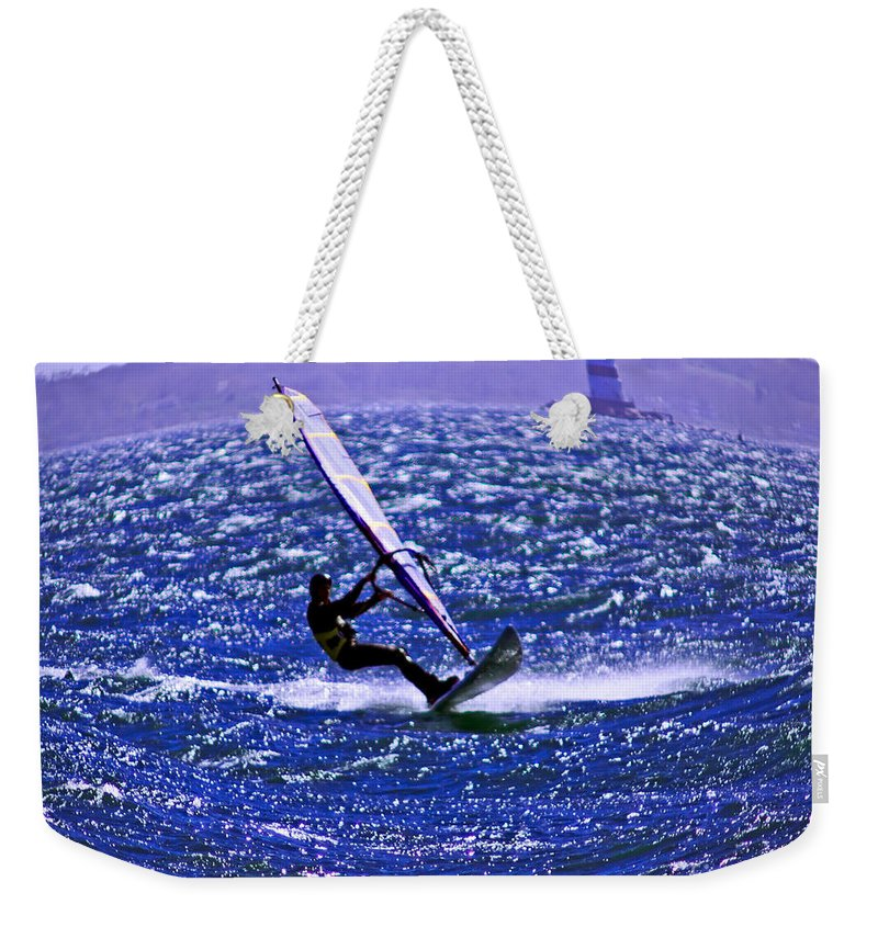 Wind Weekender Tote Bag featuring the photograph Windswept by Joe Geraci