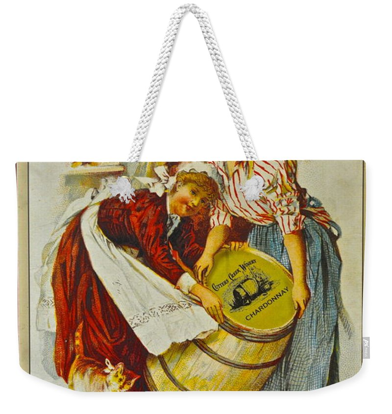 Winery Weekender Tote Bag featuring the photograph Winery Art by Frozen in Time Fine Art Photography