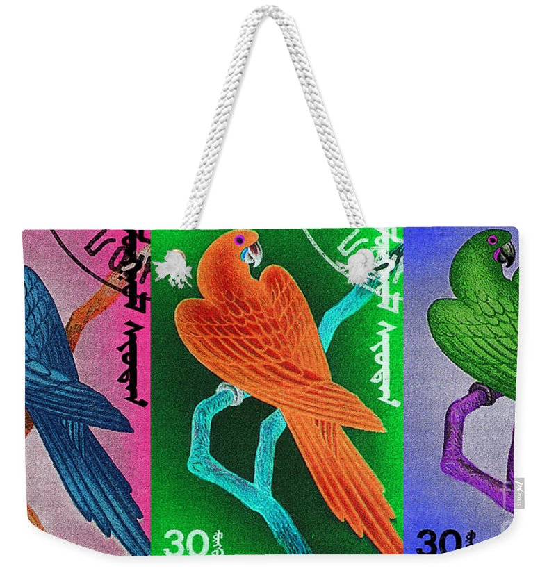 Bird Weekender Tote Bag featuring the photograph Wings Of Paradise by Andy Prendy