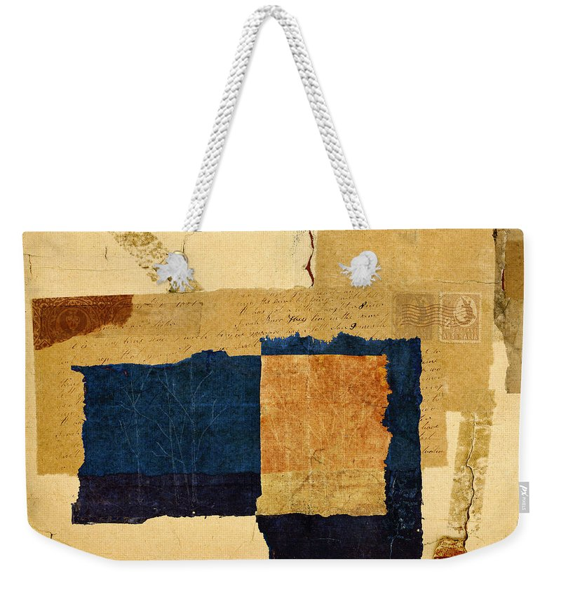 Winter Weekender Tote Bag featuring the photograph Winter and Fall by Carol Leigh