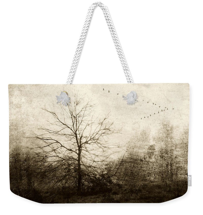 Bird Migration Photographs Weekender Tote Bags