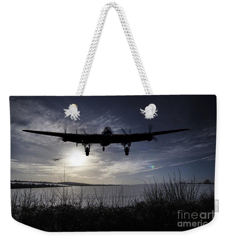 Avro Weekender Tote Bag featuring the digital art Winter Return by J Biggadike