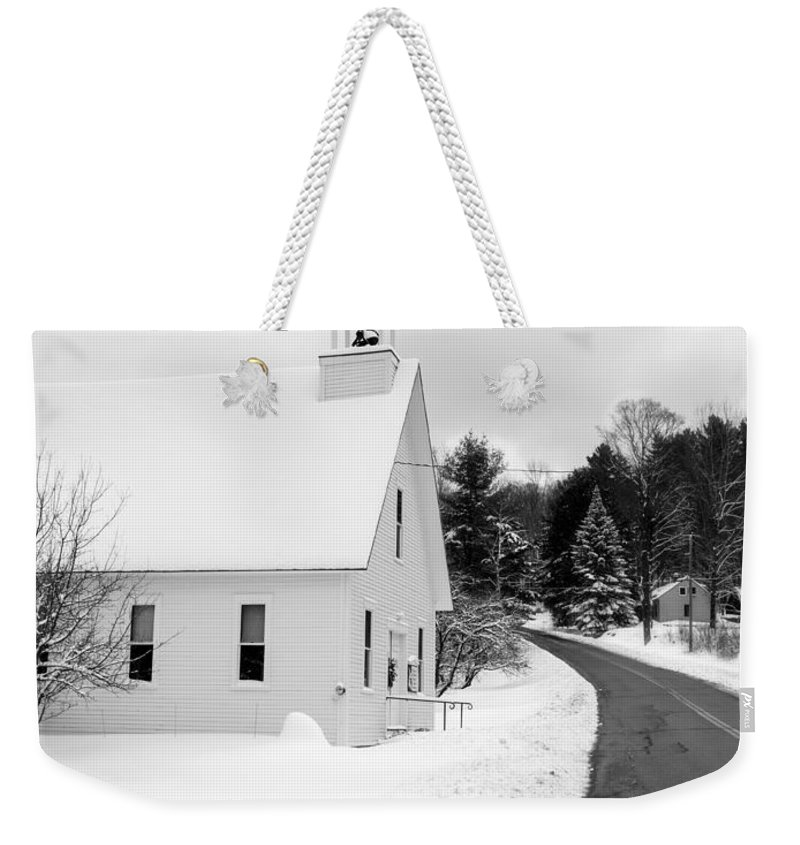 Horizontally Photographs Weekender Tote Bags