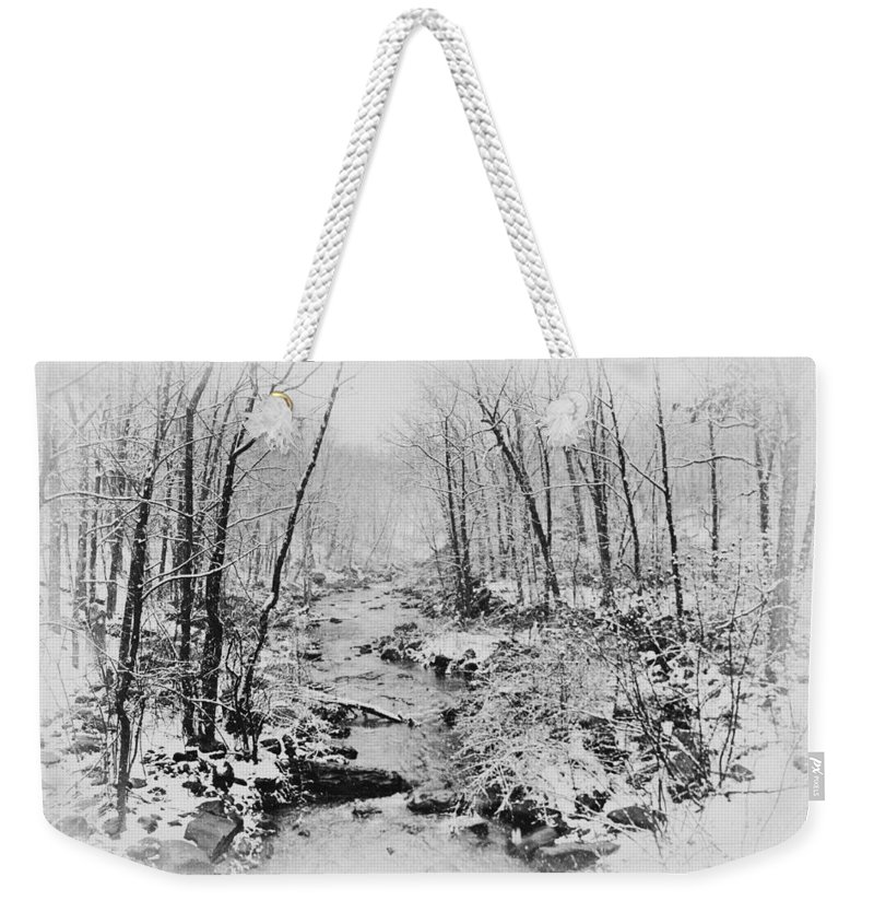 Winter Wonderland Weekender Tote Bag featuring the photograph Winter Wonderland by Bill Cannon