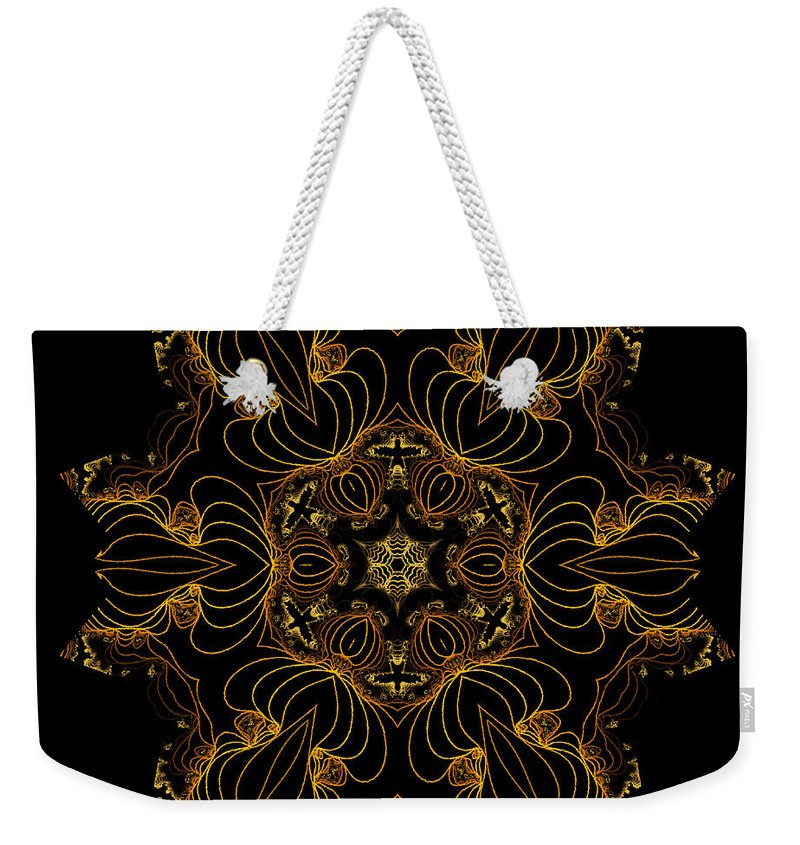 Owlspook Weekender Tote Bag featuring the digital art Wired by Owlspook