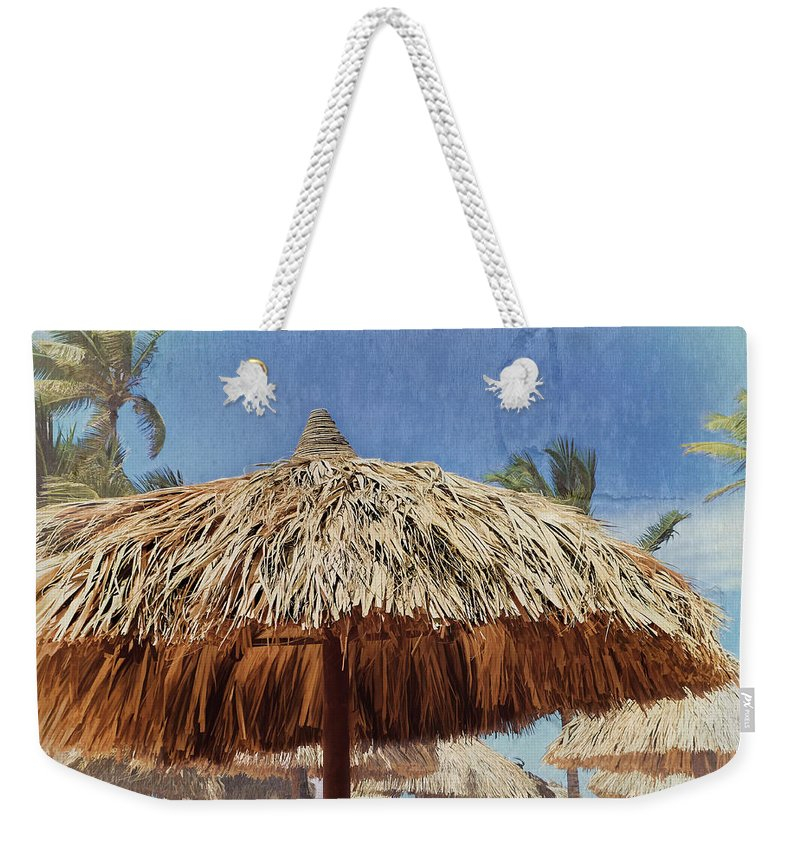 Wish You Were Here Weekender Tote Bag featuring the photograph Wish You Were Here by Julia Springer