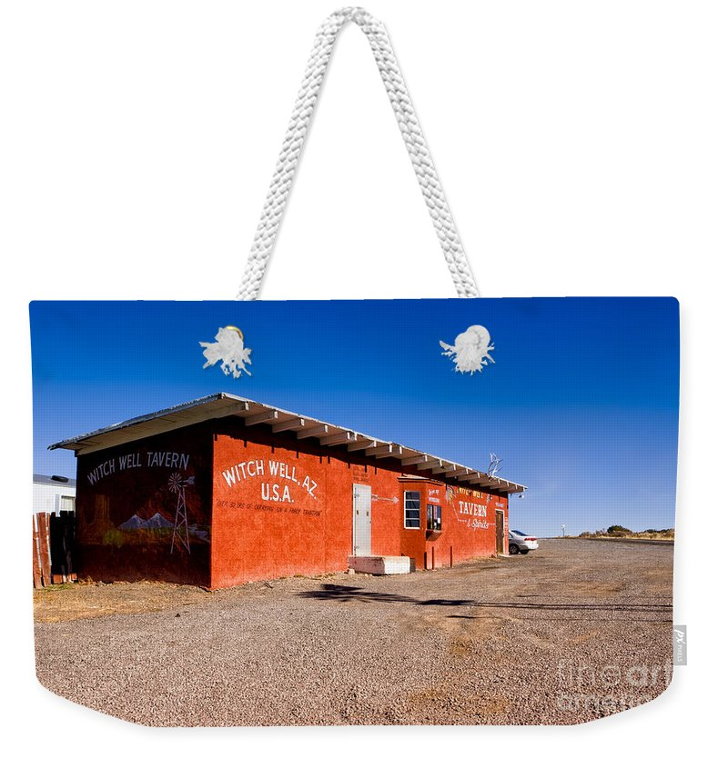Arizona Weekender Tote Bag featuring the photograph Witch Wells Arizona by Jerry Fornarotto