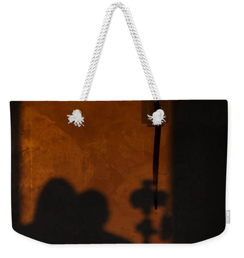 Romance Weekender Tote Bag featuring the photograph With You by Mike Herdering