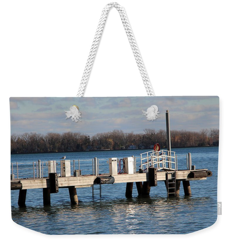 Toronto Weekender Tote Bag featuring the photograph Without Fear by Munir Alawi