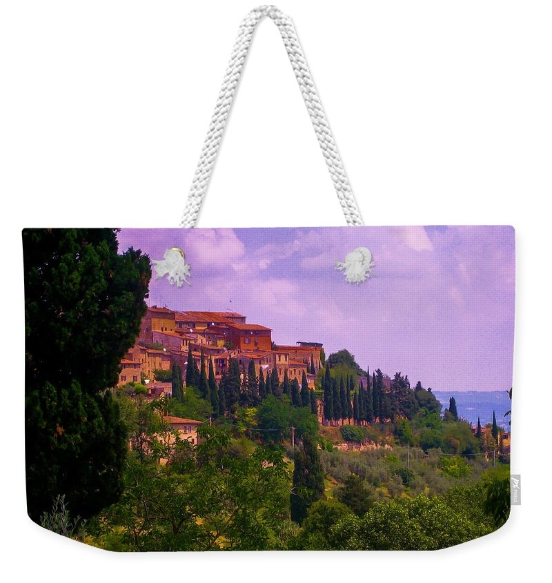 Tuscany Weekender Tote Bag featuring the photograph Wonderful Tuscany by Dany Lison