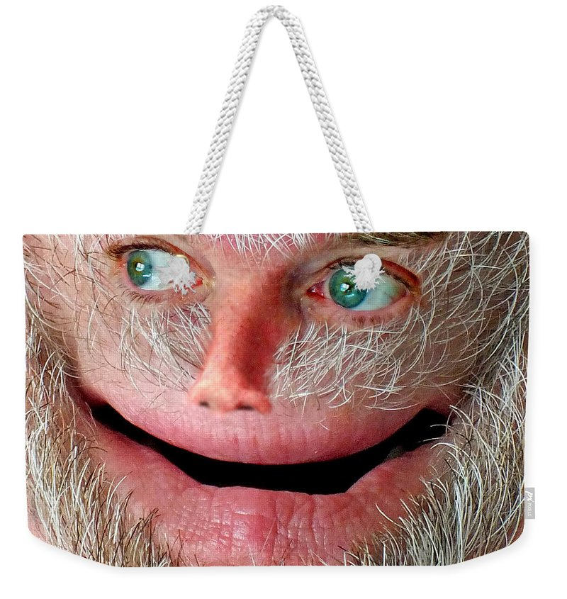 Harry Weekender Tote Bag featuring the photograph Wondering Harry by Duane McCullough