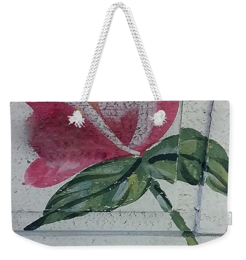 Flowers Weekender Tote Bag featuring the photograph Wood Flower by Rob Hans