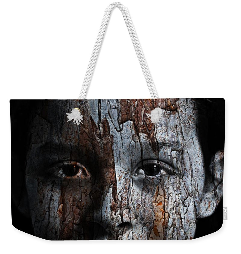 Woodland Weekender Tote Bag featuring the painting Woodland Princess by Christopher Gaston