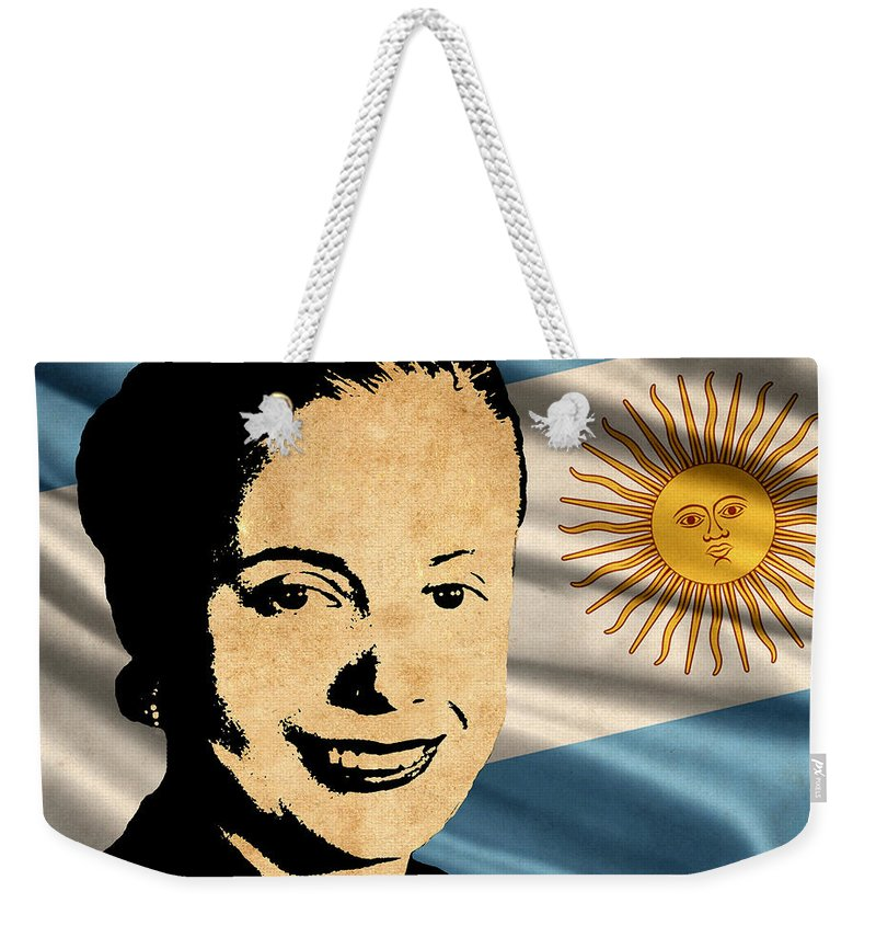 Argentina Weekender Tote Bag featuring the photograph World Leaders 15 by Andrew Fare