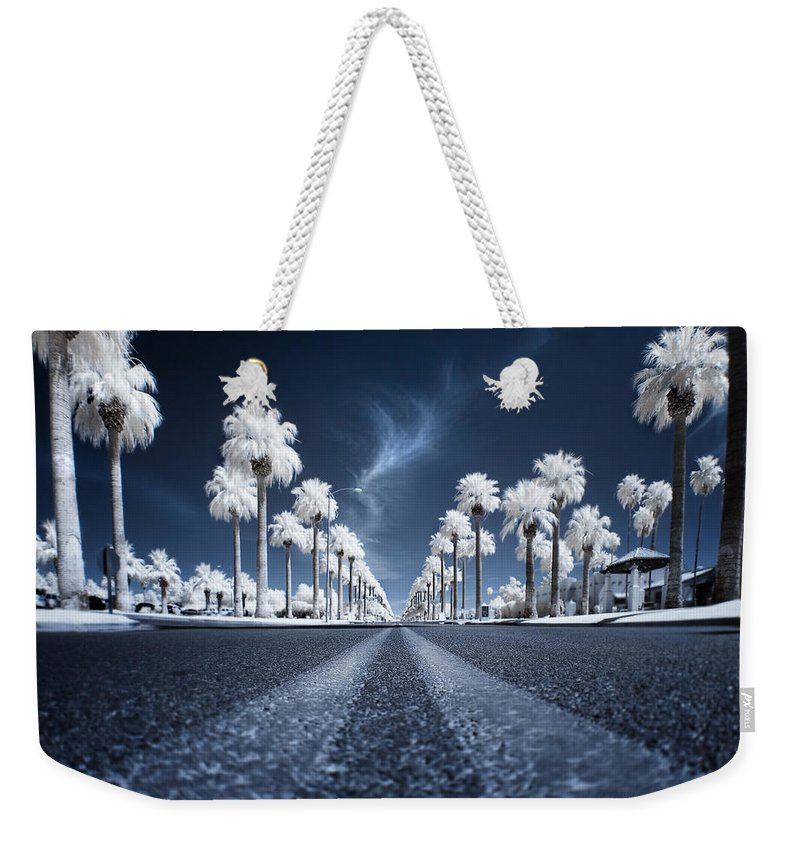 Infrared Weekender Tote Bag featuring the photograph X by Sean Foster