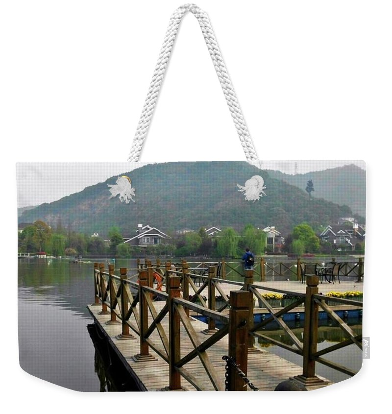 China Weekender Tote Bag featuring the photograph Xanadu by Sheryl Chapman Photography