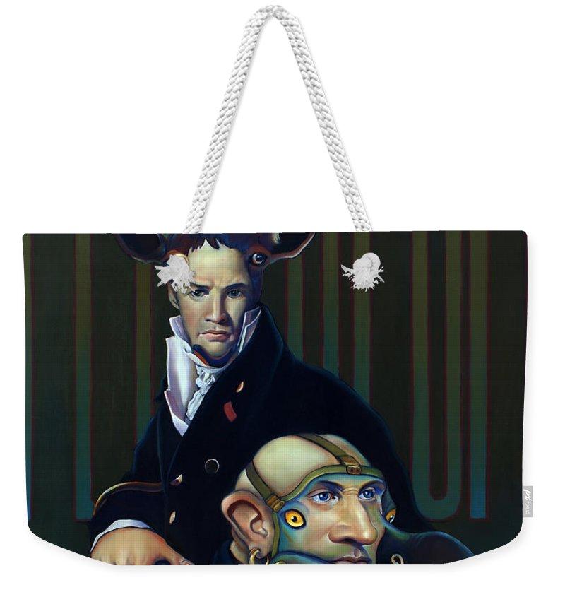 Yak Paintings Weekender Tote Bags