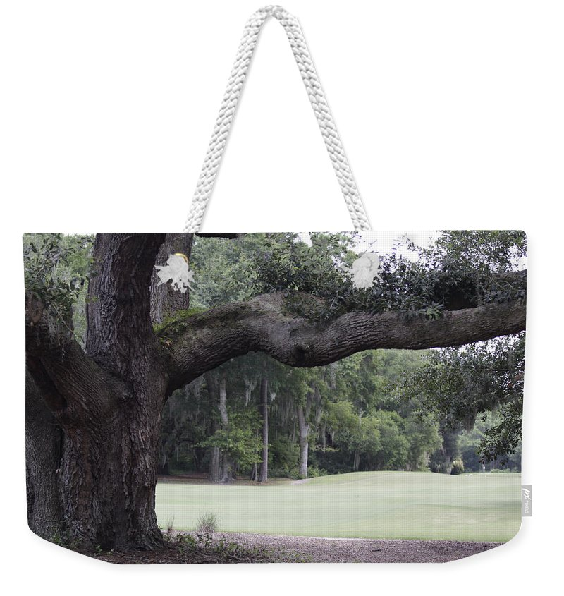 Tree Weekender Tote Bag featuring the photograph Years Of Living by Jean Macaluso