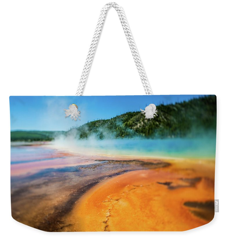 Scenics Weekender Tote Bag featuring the photograph Yellowstone by Eddy Joaquim