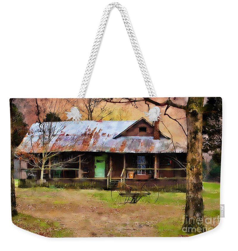 Old House Weekender Tote Bag featuring the photograph Yesteryear by Betty LaRue