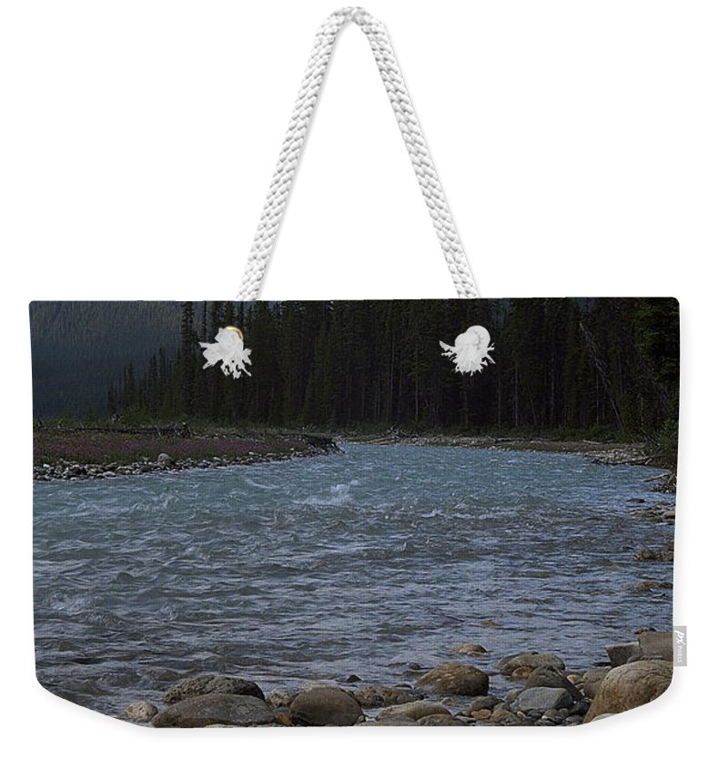 Yoho National Park Weekender Tote Bag featuring the photograph Yoho National Park British Columbia by Sharon Elliott