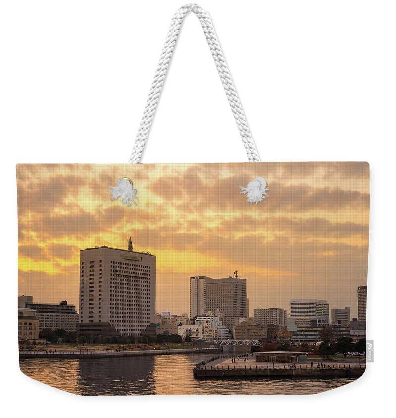 Tranquility Weekender Tote Bag featuring the photograph Yokohama by I Like Camera And Life