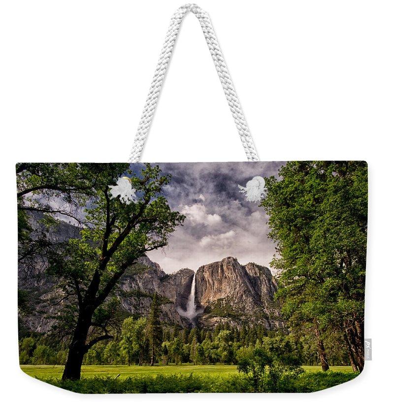 Yosemite National Park Weekender Tote Bags