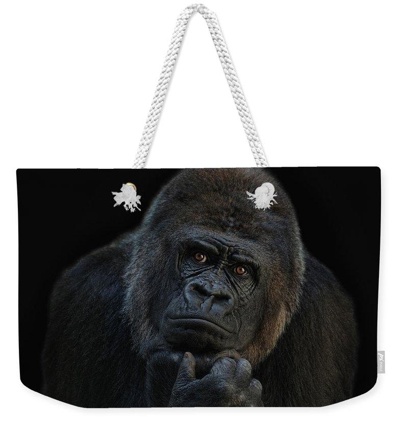 Ape Weekender Tote Bags