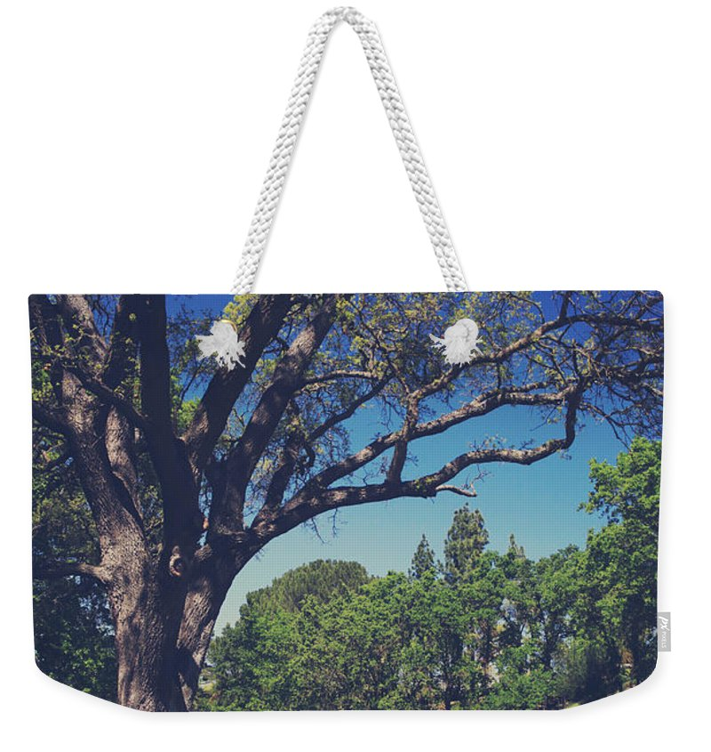Pleasanton Weekender Tote Bag featuring the photograph You'll Know It's True by Laurie Search