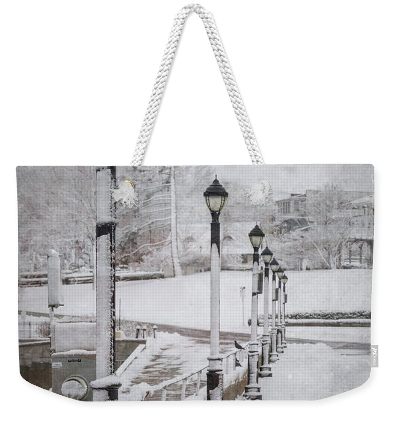 Bar Harbor Weekender Tote Bag featuring the photograph You'll Never Walk Alone by Evelina Kremsdorf