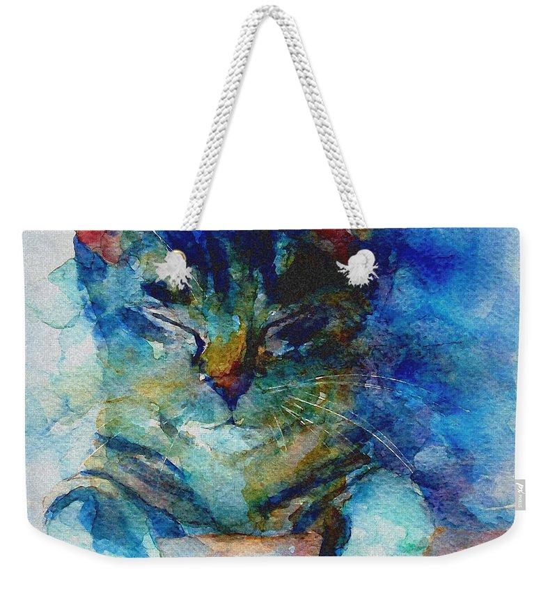 Feline Weekender Tote Bags